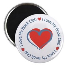 "I Love My Book Club 2.25"" Magnet (10 pack)"