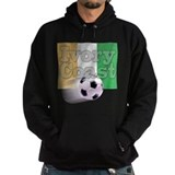 Soccer Flag Ivory Coast (B) Hoodie