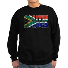 Word Art Flag South Africa Sweatshirt