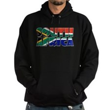 Word Art Flag South Africa Hoodie