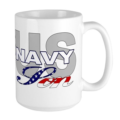 US Navy Son Large Mug