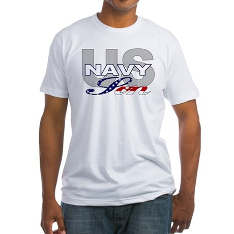 US Navy Son Fitted T-Shirt