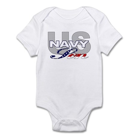 US Navy Son Infant Creeper