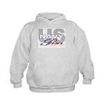 US Navy Son Kids Hoodie