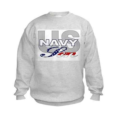 US Navy Son Kids Sweatshirt