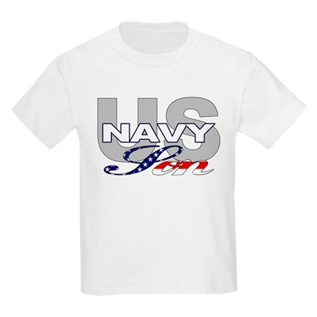 US Navy Son Kids T-Shirt