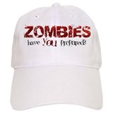 ZOMBIES: have you prepared? Cap