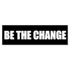 Be the Change Bumper Sticker (50 pk)