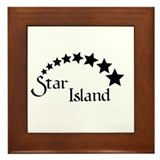 STAR ISLAND - 1 - Framed Tile