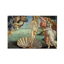 Birth of Venus by Botticelli Rectangle Magnet (100