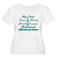 Ovarian Aunt Words T-Shirt