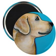 "Yellow Lab 2.25"" Magnet (10 pack)"