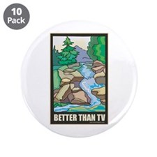 "Outdoors Nature 3.5"" Button (10 pack)"