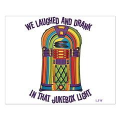 Jukebox Light Small Poster