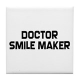 Orthodontist Smile Tile Coaster