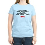 Video Games Have Destroyed My Life Women's Light T