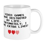 Video Games Have Destroyed My Life Mug