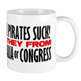 Real Pirates Suck Mug