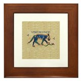 Veritas Vincit Framed Tile