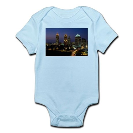 Atlanta City Skyline Infant Creeper