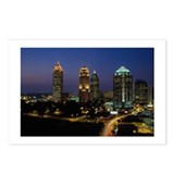 Atlanta City Skyline Postcards (Package of 8)
