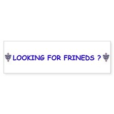 SWINGERS SYMBOL Bumper Sticker