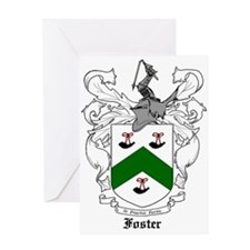 Foster Family Crest Greeting Card