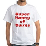 Super Nanny of Twins Shirt