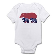 Tapir Family B Infant Bodysuit