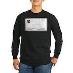 Doctor Quincy Long Sleeve Dark T-Shirt
