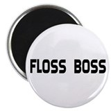 Dental Floss Boss Magnet