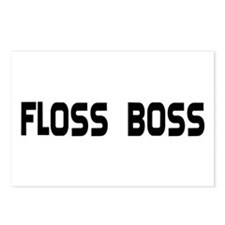 Dental Floss Boss Postcards (Package of 8)