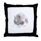 Pygora Goat Throw Pillow