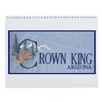 Crown King Wall Calendar