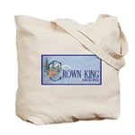 Crown King Tote Bag