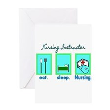 Nursing Instructor Greeting Card