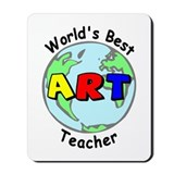 Best Art Teacher Mousepad