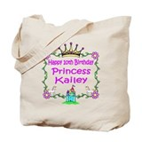 -Princess Kailey 10th Birthday Tote Bag
