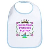 -Princess Kailey 10th Birthday Bib