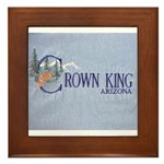 Crown King Framed Tile