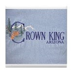 Crown King Tile Coaster