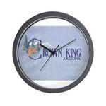 Crown King Wall Clock