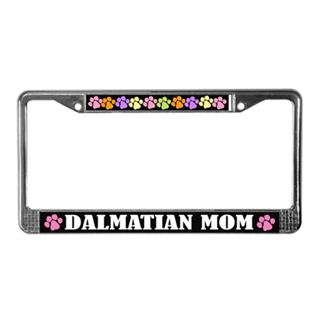 Dalmatian Mom License Plate Frame Gift