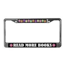 Read More Books License Plate Frame Gift