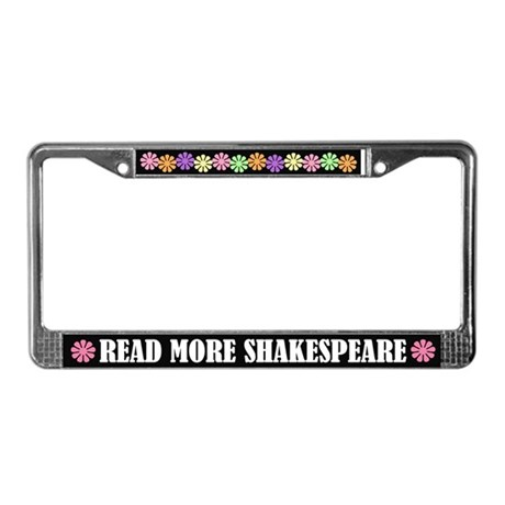 Read More Shakespeare License Frame Gift