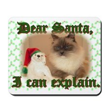 Dear Santa Mousepad