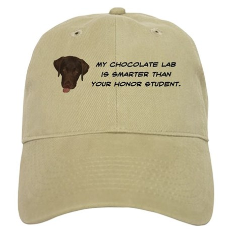 Smart Chocolate Labrador Cap