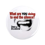 "Day Of Silence 3.5"" Button (100 pack)"