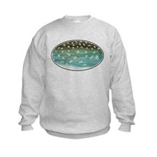 Fishing for Char Kids Sweatshirt