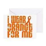 I Wear Orange For Me 16 Greeting Cards (Pk of 20)